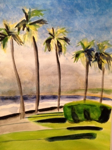 Ocean Park: La Jolla Shores. Copyright 2013 Robin L. Chandler