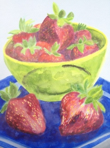 Strawberries. Copyright 2013 Robin L. Chandler