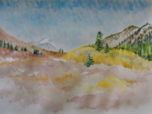Quaking Aspens on Rock Creek in the Eastern Sierra. Copyright Robin L. Chandler 2013