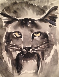 Bobcat. Copyright Robin L. Chandler 2014
