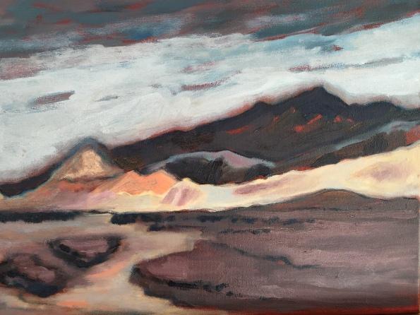 Near Zabriske Point, Death Valley. Robin L. Chandler Copyright 2016